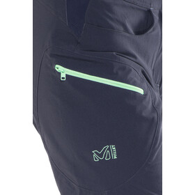Millet Trekker Stretch Pantaloncini Donna, ink/pool blue
